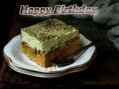 Happy Birthday Acynth