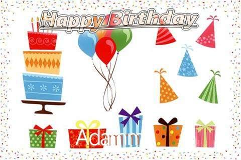 Happy Birthday Wishes for Adamm