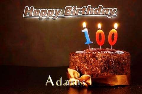 Adams Birthday Celebration
