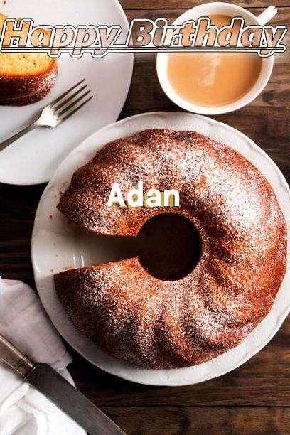 Happy Birthday Adan Cake Image