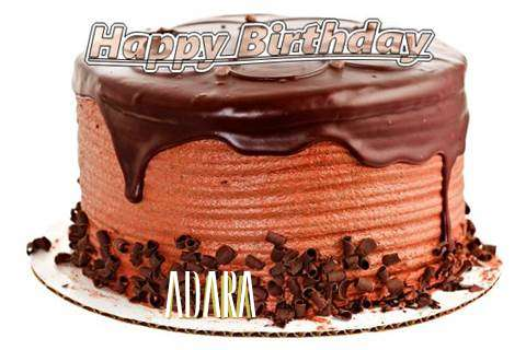 Happy Birthday Wishes for Adara