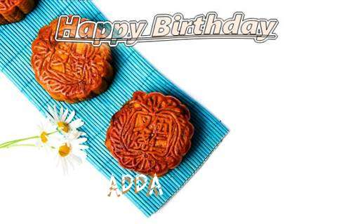 Birthday Wishes with Images of Adda