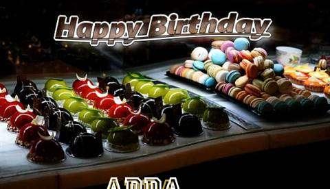 Happy Birthday Cake for Adda