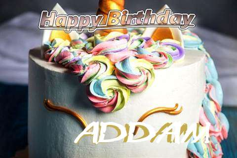 Birthday Wishes with Images of Addam
