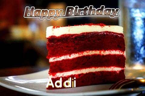 Happy Birthday Addi