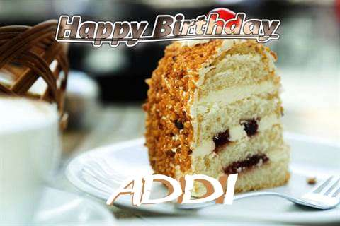 Happy Birthday Wishes for Addi