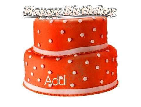 Happy Birthday Cake for Addi