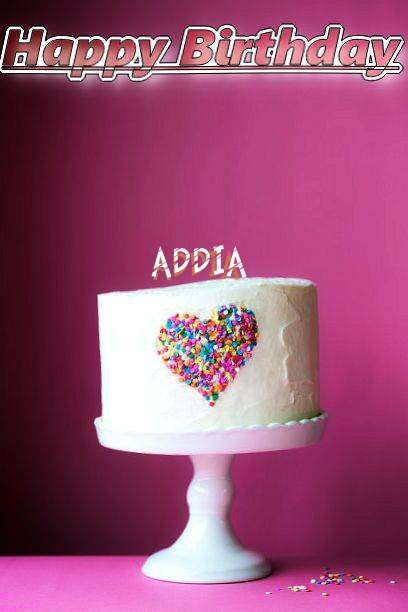 Birthday Wishes with Images of Addia