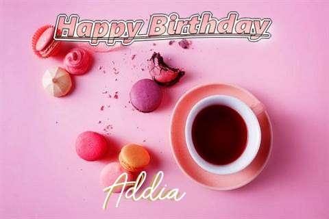 Happy Birthday to You Addia