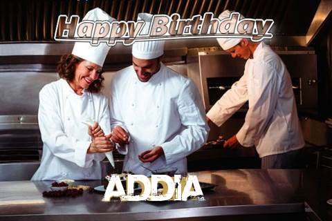 Happy Birthday Cake for Addia