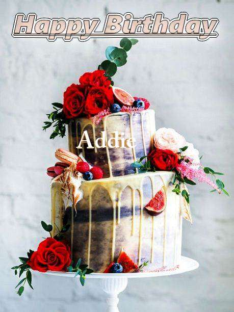 Birthday Wishes with Images of Addie