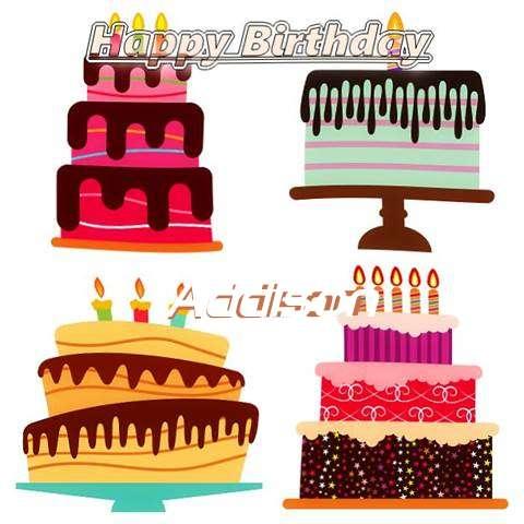 Happy Birthday Wishes for Addison