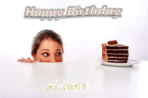Birthday Wishes with Images of Adeana
