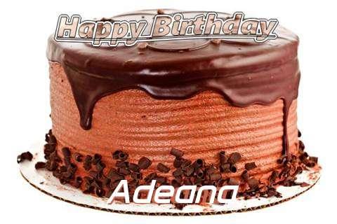 Happy Birthday Wishes for Adeana