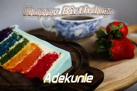 Happy Birthday Adekunle