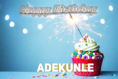 Happy Birthday Wishes for Adekunle