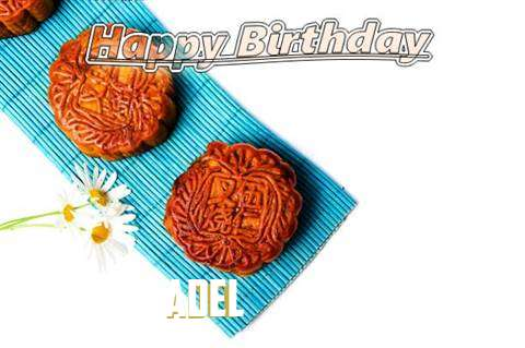Birthday Wishes with Images of Adel