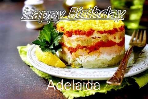 Happy Birthday to You Adelaida