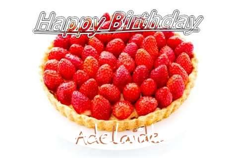 Happy Birthday Adelaide Cake Image