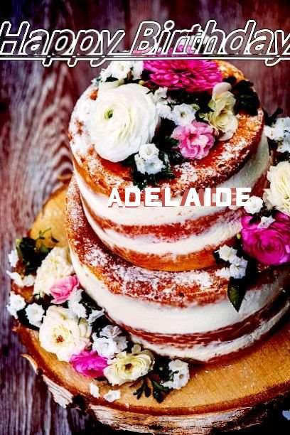 Happy Birthday Cake for Adelaide