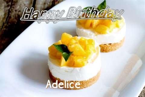 Happy Birthday to You Adelice