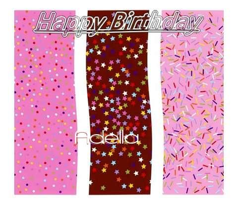 Happy Birthday Wishes for Adella