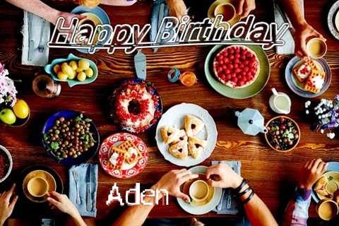 Happy Birthday to You Aden