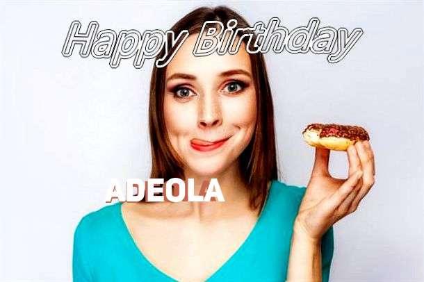 Happy Birthday Wishes for Adeola