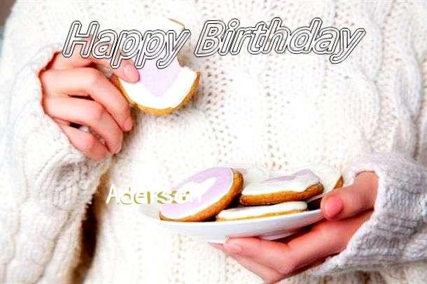 Happy Birthday Adersen