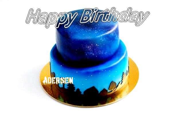 Happy Birthday Cake for Adersen