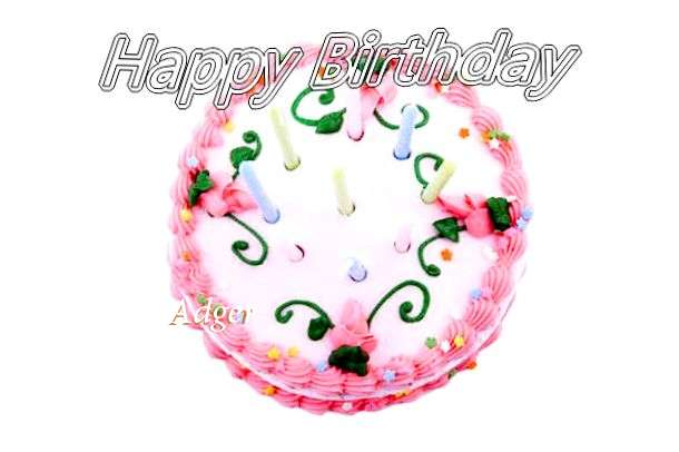 Happy Birthday Cake for Adger