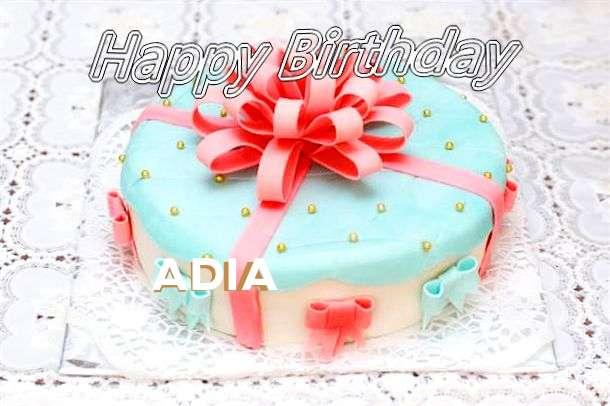 Happy Birthday Wishes for Adia