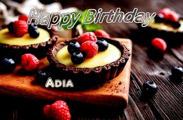 Happy Birthday to You Adia