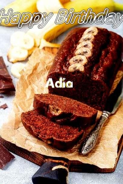 Happy Birthday Cake for Adia