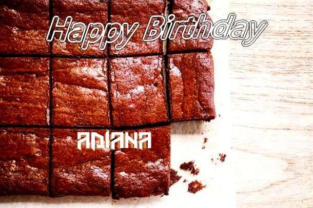 Happy Birthday Adiana