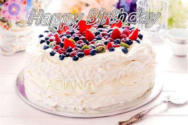 Happy Birthday to You Adiana