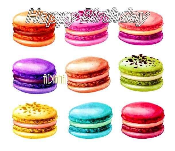 Happy Birthday Cake for Adiana