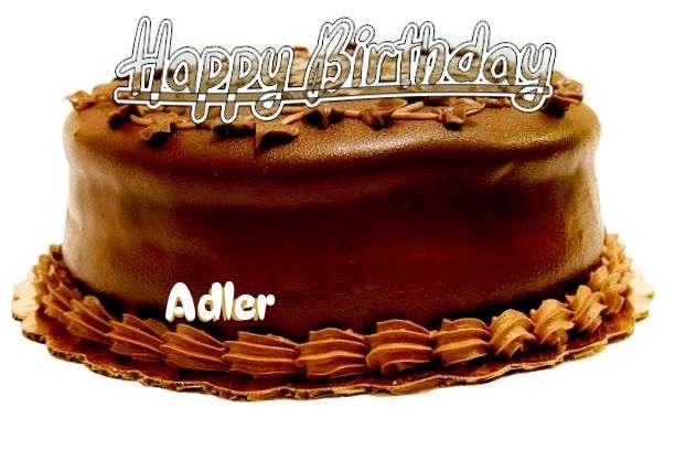 Happy Birthday to You Adler