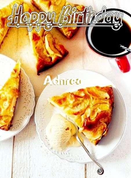 Happy Birthday Adnrea