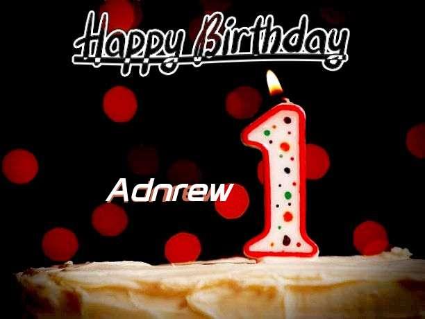 Happy Birthday to You Adnrew