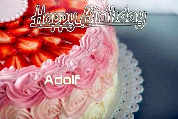 Happy Birthday Adolf Cake Image