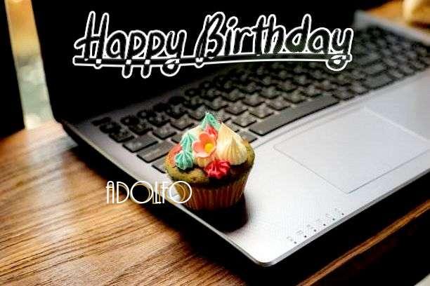 Happy Birthday Wishes for Adolfo