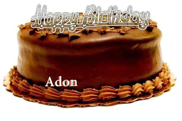 Happy Birthday to You Adon