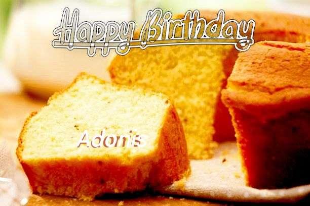 Happy Birthday Cake for Adonis