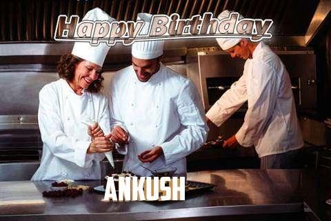 Happy Birthday Cake for Ankush