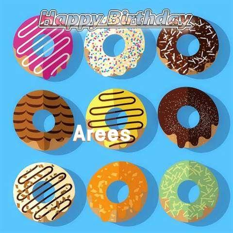 Happy Birthday Arees Cake Image