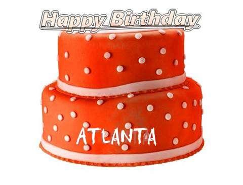 Happy Birthday Cake for Atlanta