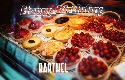 Happy Birthday Cake for Barthel