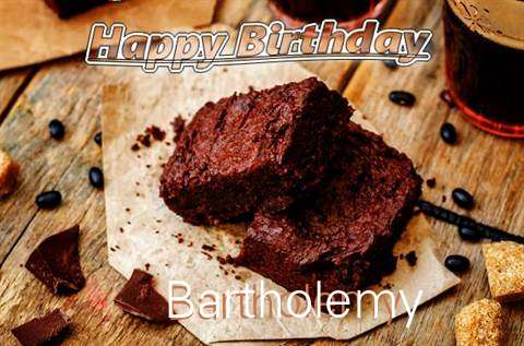 Happy Birthday Bartholemy Cake Image