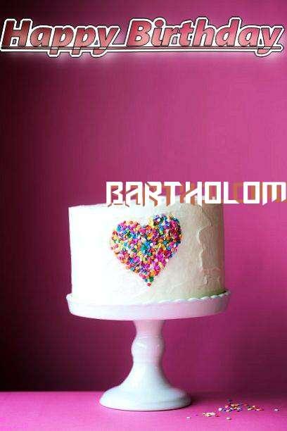 Birthday Wishes with Images of Bartholomeo